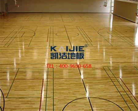 <b>篮球体育木地板安装验收指南</b>-篮球地板
