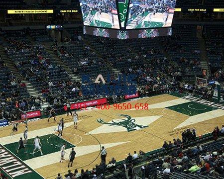 【篮球木地板厂家】为什么室内篮球场使用实木制地板-篮球地板