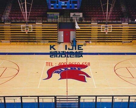 <b>【凯洁篮球地板】适合体育场馆的实木运动地板</b>-篮球地板