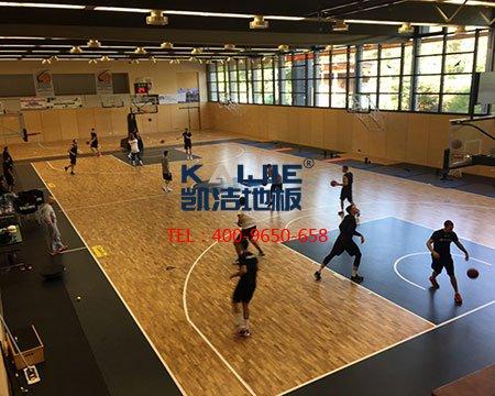 <b>篮球运动地板比家用木地板好?</b>-篮球地板