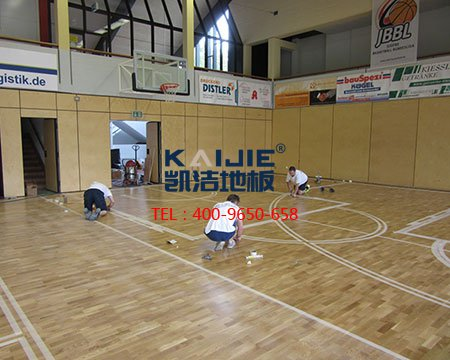 篮球馆枫桦木地板的产品特性-篮球地板