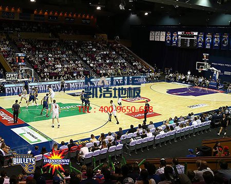 NBA篮球场地用的是哪种木地板?-篮球地板
