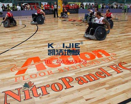 广受欢迎的体育运动木地板-室内运动木地板