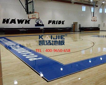 近年来凯洁地板成为了多数体育馆的首选-篮球地板