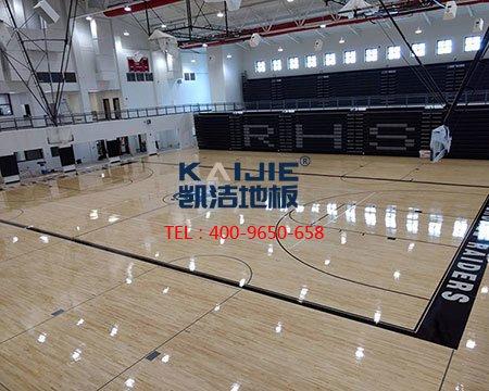 凯洁运动木地板坚守二十年,一颗运动心-篮球地板