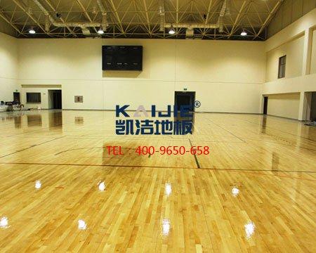 篮球地板厂家_凯洁运动木地板优势-篮球地板