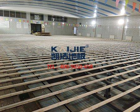 北师大附中排球馆运动木地板-排球地板