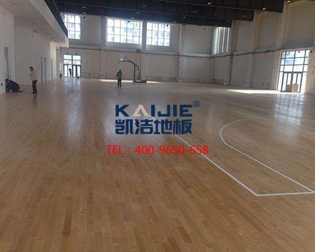 兰州大学篮球馆木地板-篮球地板
