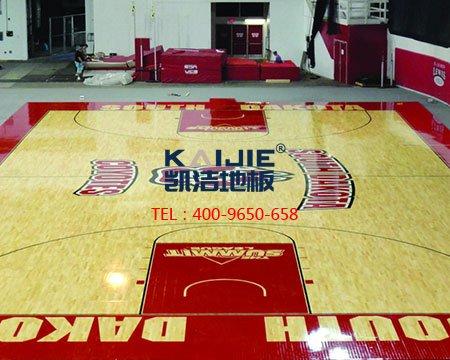 中美贸易战,凯洁运动木地板斗争到底-篮球地板