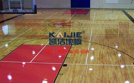 篮球地板厂家_枫木、柞木运动木地板介绍