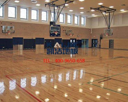 致敬23年_凯洁运动木地板品牌新闻发布会-篮球地板