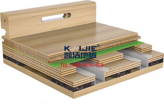 篮球地板_运动木地板龙骨结构系统-篮球地板
