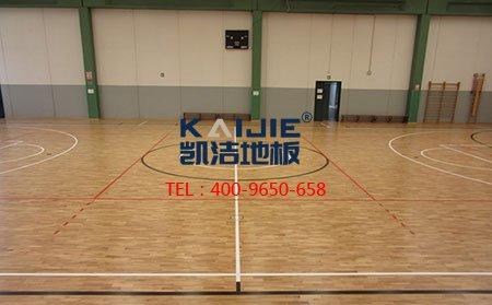 篮球地板_为何运动木地板结构中不能缺毛地板?-篮球地板
