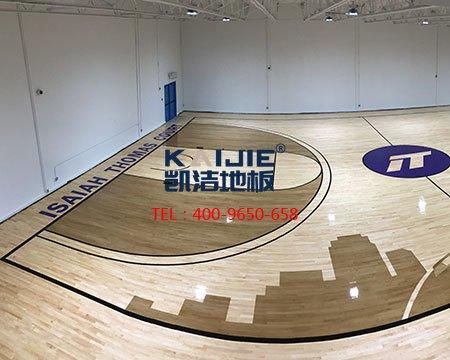 凯洁运动木地板,一站式服务-篮球地板