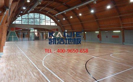 篮球馆体育运动木地板多少钱?-篮球地板