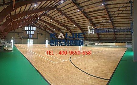 为什么体育场馆只用专业体育运动木地板?-篮球地板