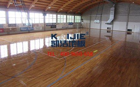国内运动木地板厂家和品牌-篮球地板