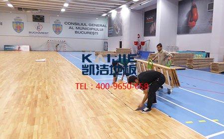 篮球场馆运动木地板划线标准
