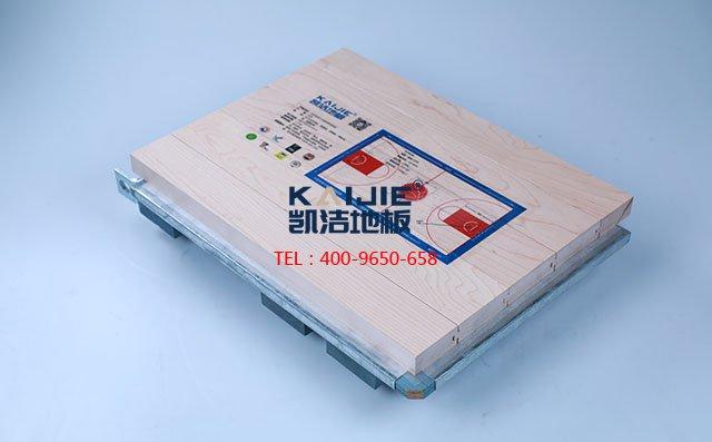 枫木拼装结构运动木地板-运动木地板