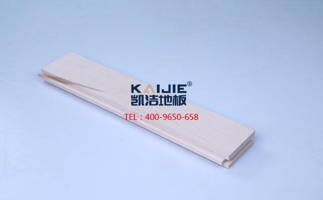 北美枫木二级素板运动木地板-运动木地板