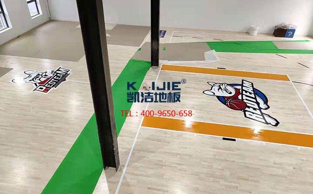 北京朝阳区祈园文化创意小镇篮球馆项目-篮球木地板