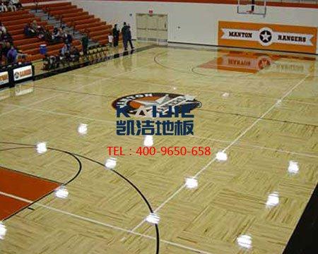 专业篮球场木地板的国际设计标准