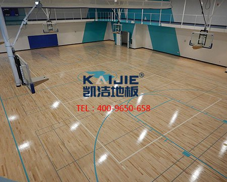 为什么专业的篮球场木地板这么舒服?这就是原因