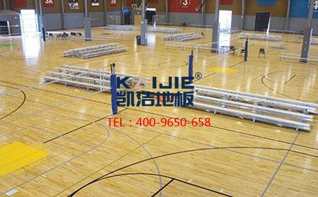 究竟为何专业厂家体育馆木地板的结构会那么稳定