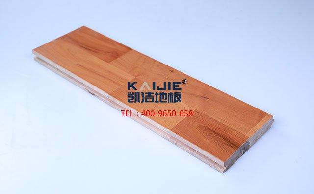 枫桦木B级双拼板运动木地板-运动木地板