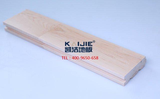 枫桦木A下板运动木地板-运动木地板