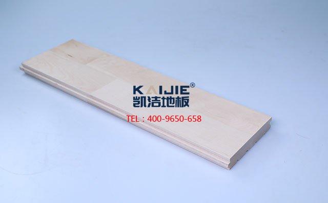 枫桦木A级双拼板运动木地板-运动木地板