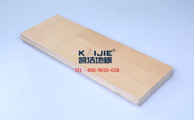 枫桦木A级三拼板运动木地板-运动木地板
