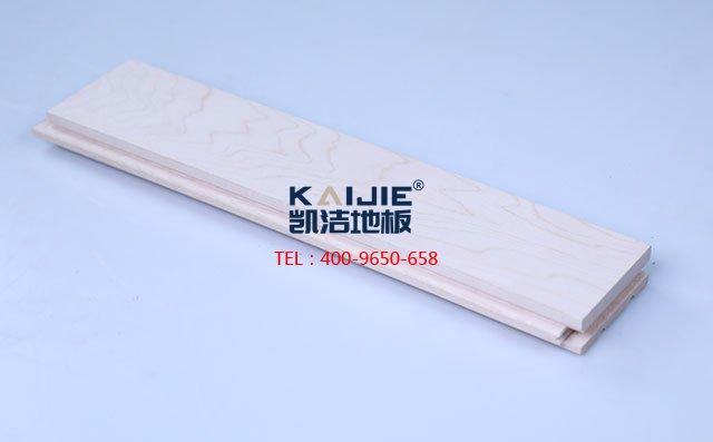 北美枫木一级素板运动木地板-运动木地板