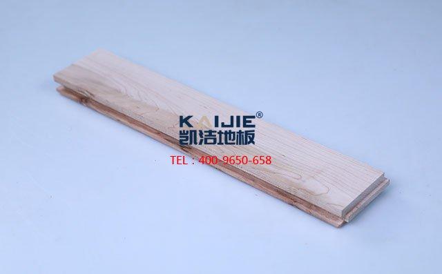 北美枫木三级素板运动木地板-运动木地板
