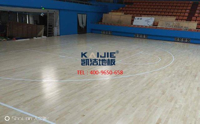 篮球馆木地板厂家的漆装工艺及特性