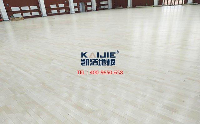 「北京篮球地板」凯洁篮球场木地板价格多少钱一平米?