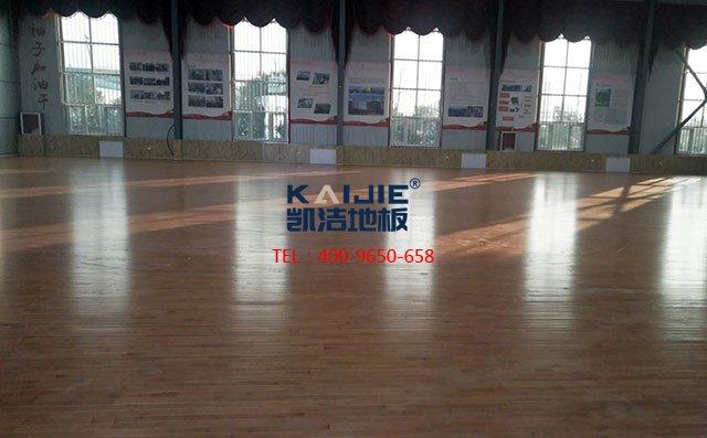 为什么凯洁篮球场木地板这么受市场欢迎?