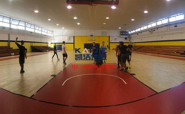 凯洁地板教你如何预防和处理篮球地板的鼓包-篮球地板