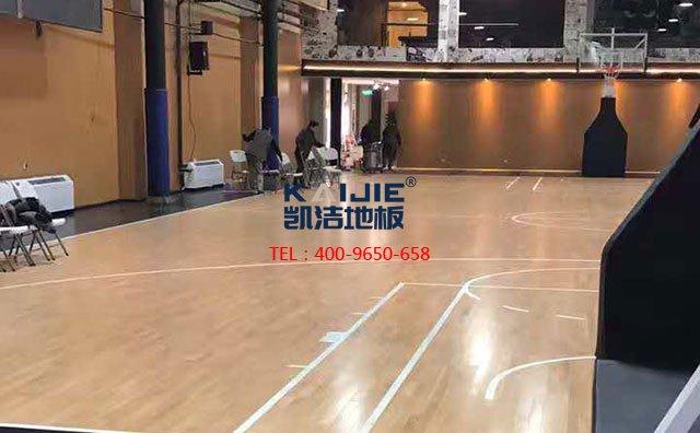 怎么解决篮球馆木地板色差问题