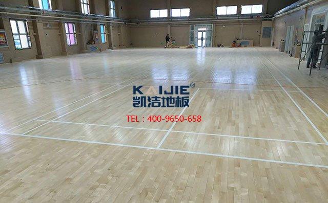 环保专用的羽毛球运动木地板厂家-羽毛球木地板