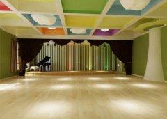 舞蹈教室木地板