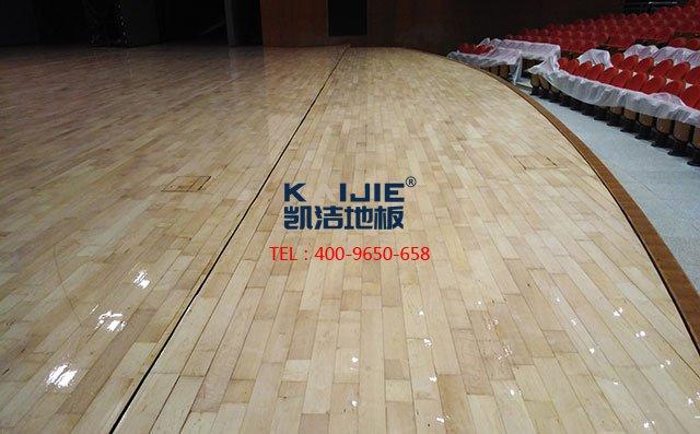 安徽滁州大剧院舞台long8龙8国际打磨翻新案例——凯洁long8国际官网娱乐
