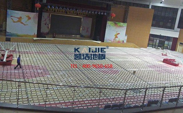 青岛市黄岛区第六中学体育馆long8龙8国际案例——凯洁long8国际官网娱乐
