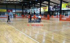 如何营造篮球场木地板的美感视野