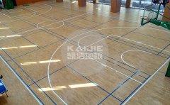 羽毛球馆木地板铺装用哪种结构比较好-羽毛球木地板