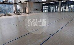 篮球馆木地板市场价格多少钱一平米-篮球地板价格