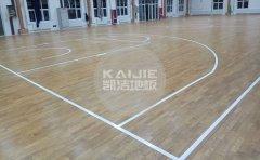 篮球场馆地面材料怎么保养