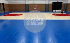 国际篮联认证运动木地板厂家-篮球木地板