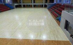 室内体育场馆铺运动木地板的好处-运动木地板