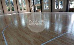篮球场馆木地板怎么防滑防潮